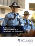 Cover page of law enforcement research paper