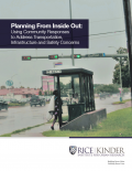 Cover for Planning From Inside Out report