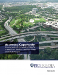 Cover page of commuting research report