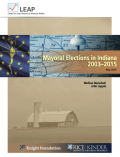 Thumbnail of Mayoral Elections in Indiana report cover