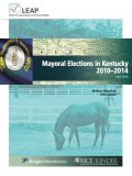 Thumbnail of Mayoral Elections in Kentucky report cover