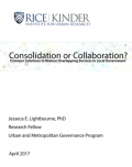 Consolidation of Collaboration graphic