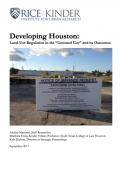 Developing Houston cover