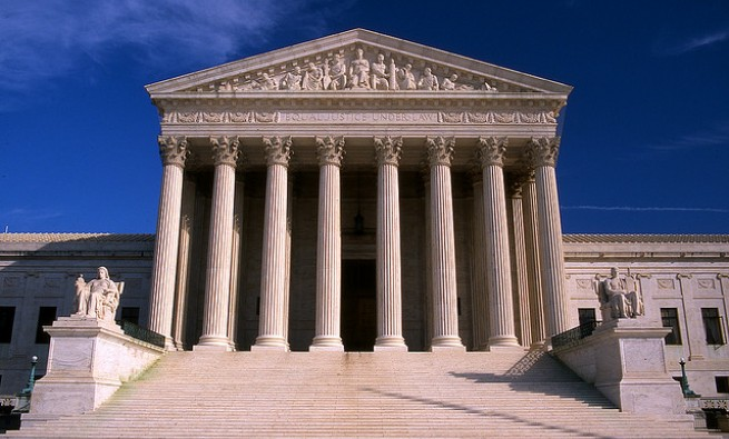 Image of the U.S. Supreme Court building