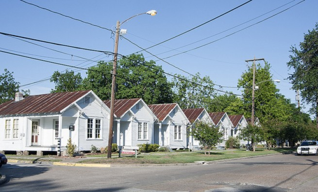 Photo of the Project Row Houses