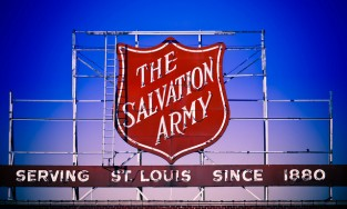 St. Louis Salvation Army sign