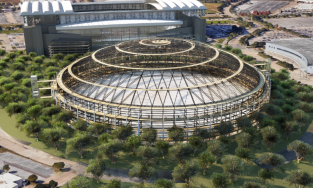 Dome park rendering