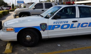 Houston police car