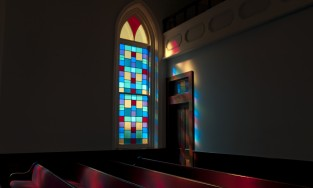 The Dexter Avenue King Memorial Baptist Church in Montgomery, Alabama, where Dr. Martin Luther King Jr. was once the pastor.