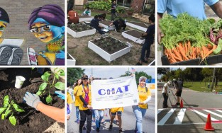 photos related to community organization efforts to more resilient