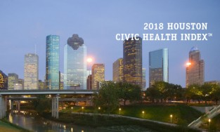 Report Cover for the Civic Health Index Report