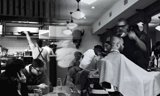 workers in the restaurant industry and barbers have been hit hard by COVID-19 related job loss