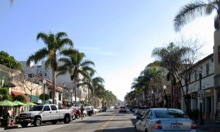 Downtown Ventura, California
