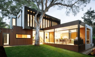 A modern smart home in Melbourne, Australia